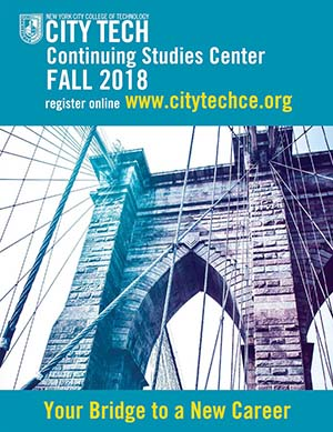 City Tech Continuing Studies Center Bulletin thumb